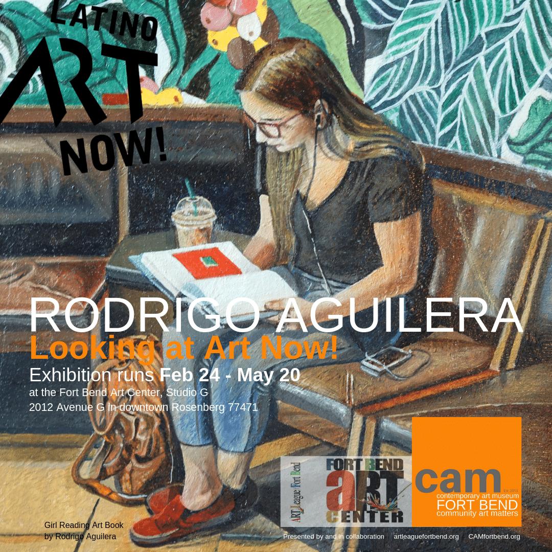 Rodrigo Aguilera: Looking at Art Now!
