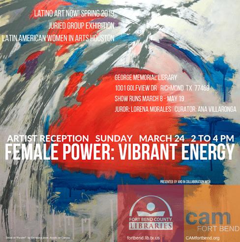Female Power: Vibrant Energy