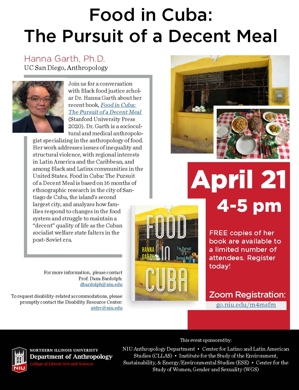 Dr. Hanna Garth – Food in Cuba: The Pursuit of a Decent Meal